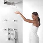 Ducha termostatica Cuadro de TRES