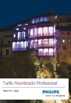 Tarifa iluminacion Philips 2012