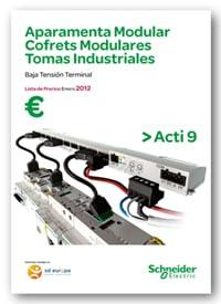 Tarifas Schneider Electric Octubre 2012