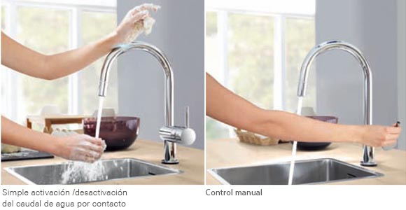 Nuevo Grohe Minta Touch