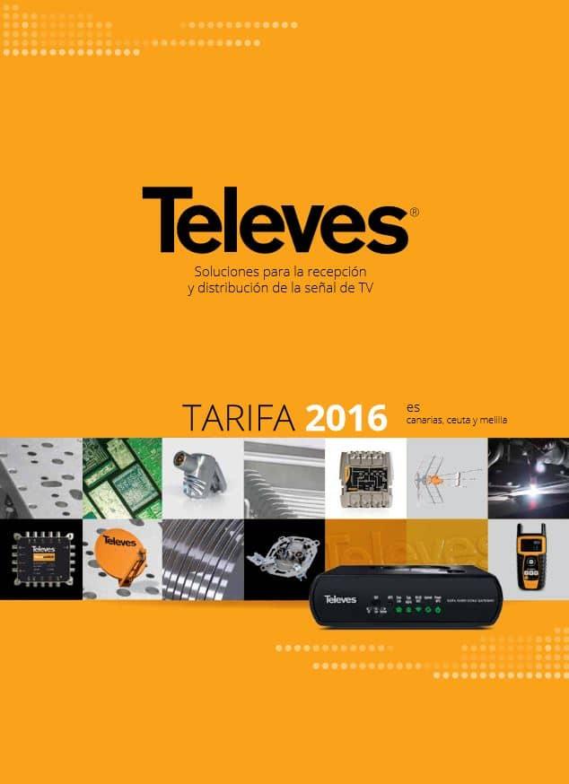 Tarifa Precios Televes 2016 Lista Precios Televes 2016
